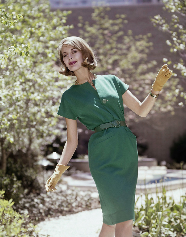 . Fashion dress in 1963. (AP Photo)