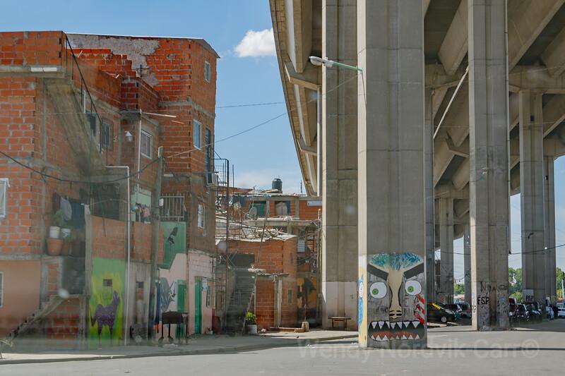 Slums of Misery Villas miseria in Buenos Aires Argentina