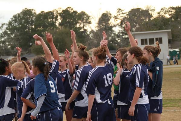ESMS Girls Soccer 2010