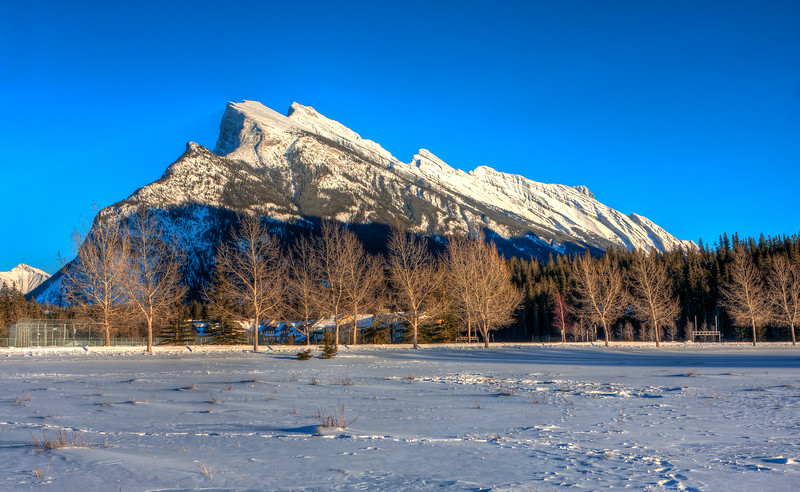 Rundle Sunset HDR