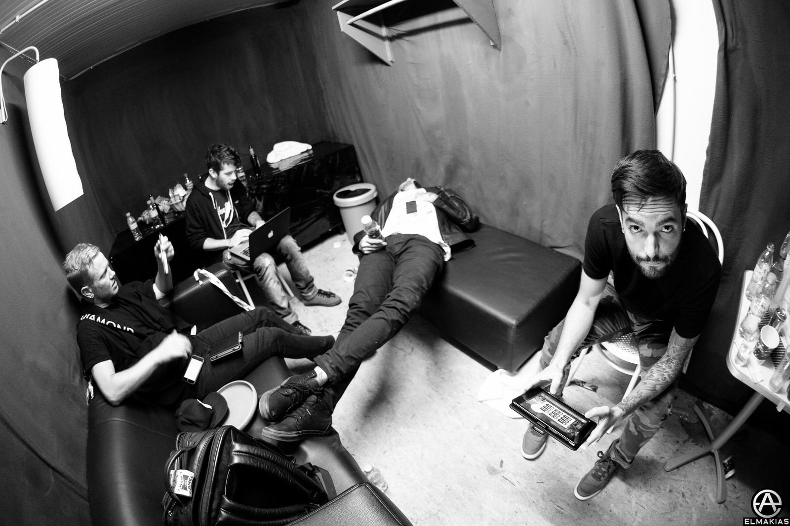 backstage hanging in Switzerland