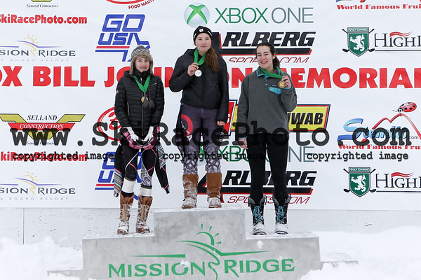 Podiums Day 2