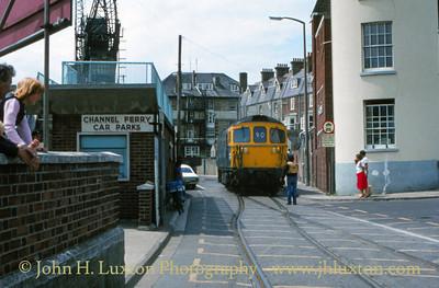 Weymouth Quay Tramway - 1980s