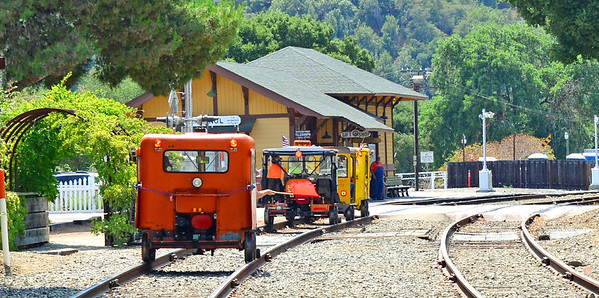 Speeder Ride on Niles Canyon Railway