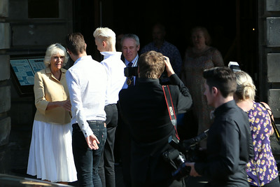 Camilla, Duchess of Cornwall at the Assembly Rooms