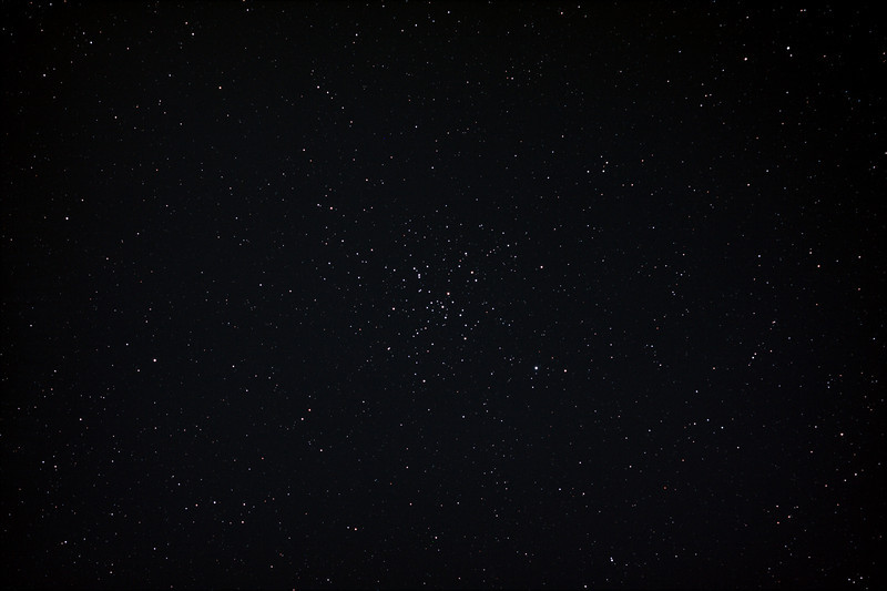 Messier M41 - NGC2287 - Open Cluster in Canis Major - 25/12/2012 (Processed stack)