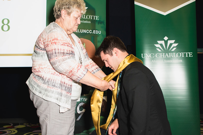 UNC Charlotte Legacy Draping Ceremony Spring 2018