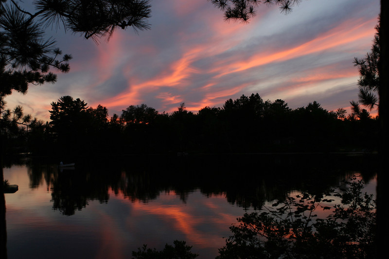 Sunset Over Horseshoe Lake
