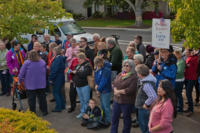 Oregon United For Marriage Rally in Medford Oregon, ORUNITED.ORG