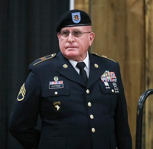 Veteran's Day Ceremony, November 10