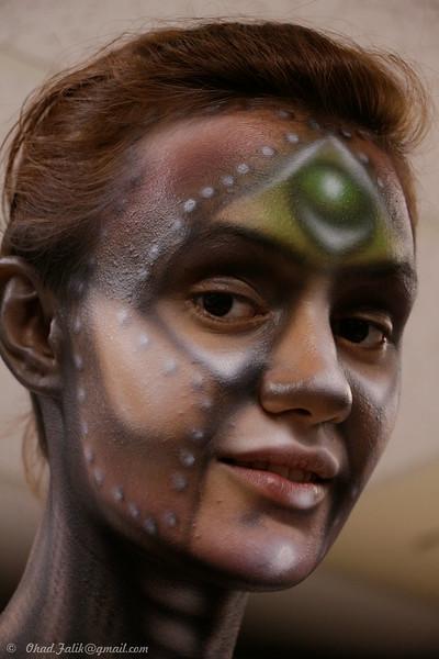 Moti Shemesh Body Paint Class - open