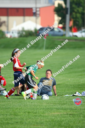 U11 Girls - FC United Hurricanes Blue vs Edina Girls Eclipse