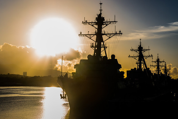 Pearl Harbor Sunrise
