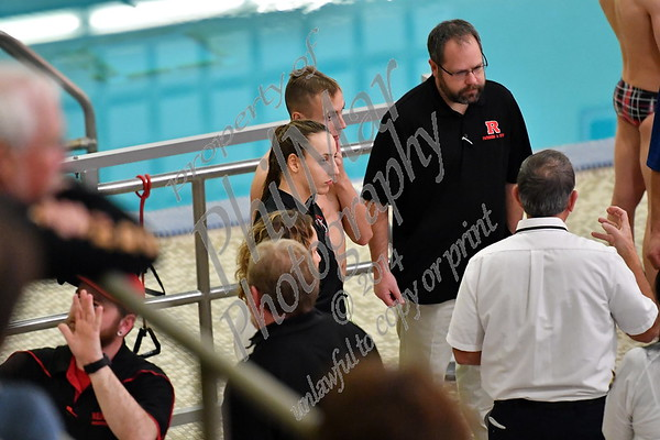 Reading vs Exeter High School Swimming 2016 - 2017