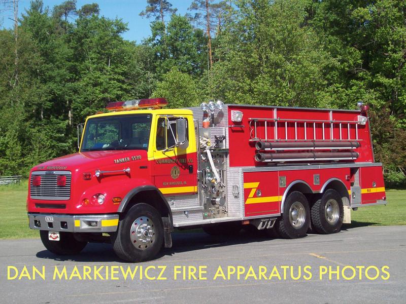COMMUNITY FIRE CO. TANKER 55-30 1997 FREIGHTLINER/KME TANKER