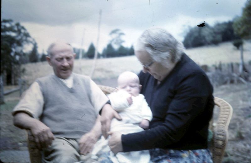 1964-2-25 (8) Dad, David 2 Mths & Mum.JPG