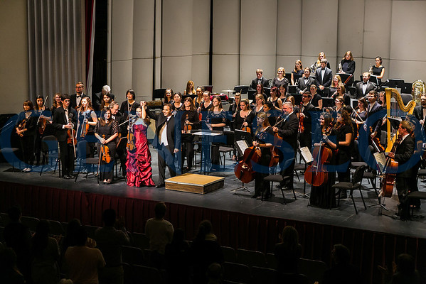 Geneseo Symphony Orchestra (Photos by JB)