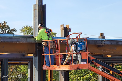 Buildings - SSM Health South Madison Campus - Steel Goes Up [d] Fall, 2020