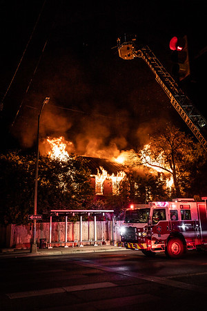 Vacant Commercial Fire - 900 W. Martin - San Antonio, TX - 6/10/20