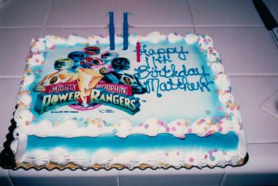 1994-12   Matthew 11th Birthday
