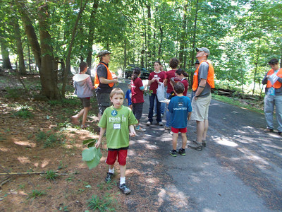 6.2.12 Nature Scavenger Hunt at Hilton Area of Patapsco State Park with REI Friends & Others
