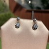.69ctw Vintage Diamond Double Drop Earrings, French 10
