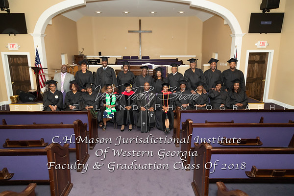 C.H. Mason Jurisdictional Institute Of Western Georgia  2018