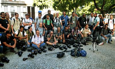 Cameraman dead protest