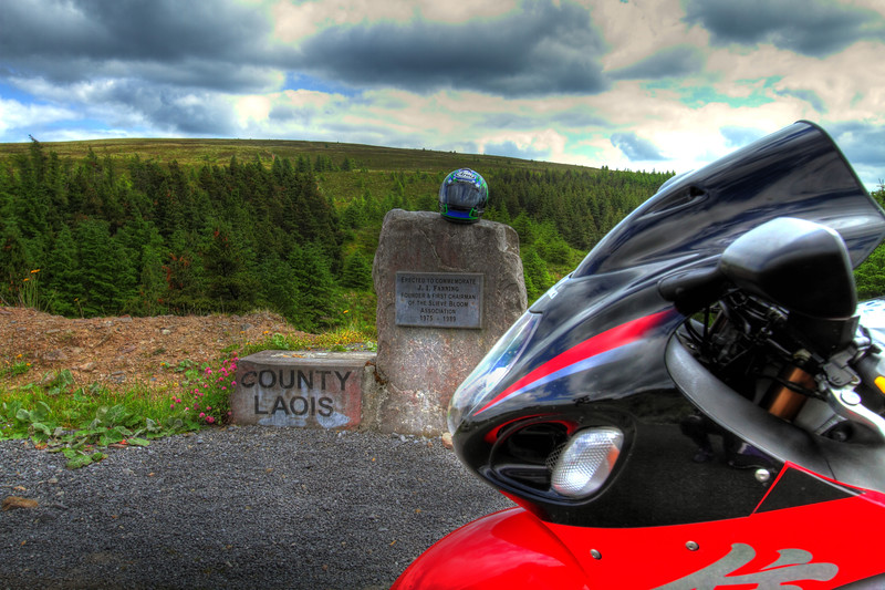 13. Laois/Offaly Fanning memorial, Glendine gap, 8K SE of Kinnitty