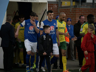 Eastleigh (1) v Dover Athletic (0) 15.4.2015