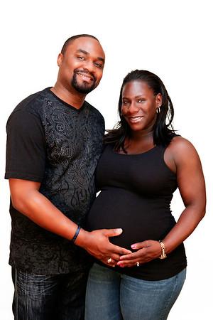 Lakisha and George Maternity