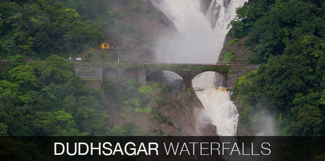 Majestic Dudhsagar waterfalls and magic of Castle Rock