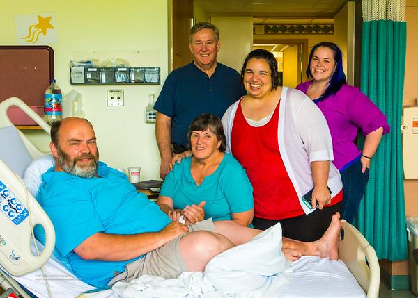 Bill Mudge Hospital Visit