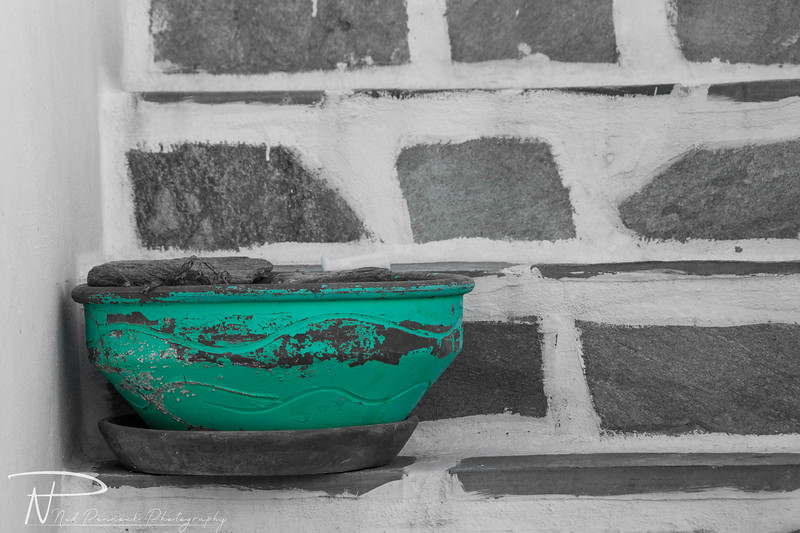 Teal Planter on Steps.jpg