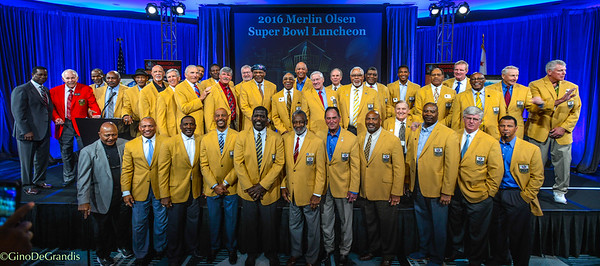 Super Bowl Luncheon -Hall of Fame 2016