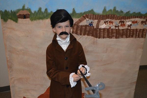 Third Grade Living Wax Museum