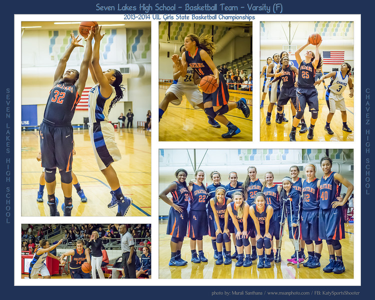 02-10-2014 - Seven Lakes High School vs Chavez High School - 2013-14 UIL Girls State Basketball Championships