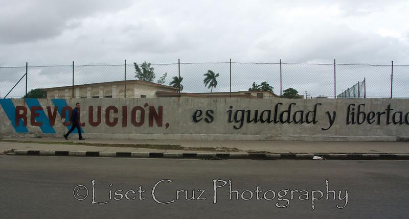 Haz lo que yo digo y no lo que yo hago Havana, Cuba.