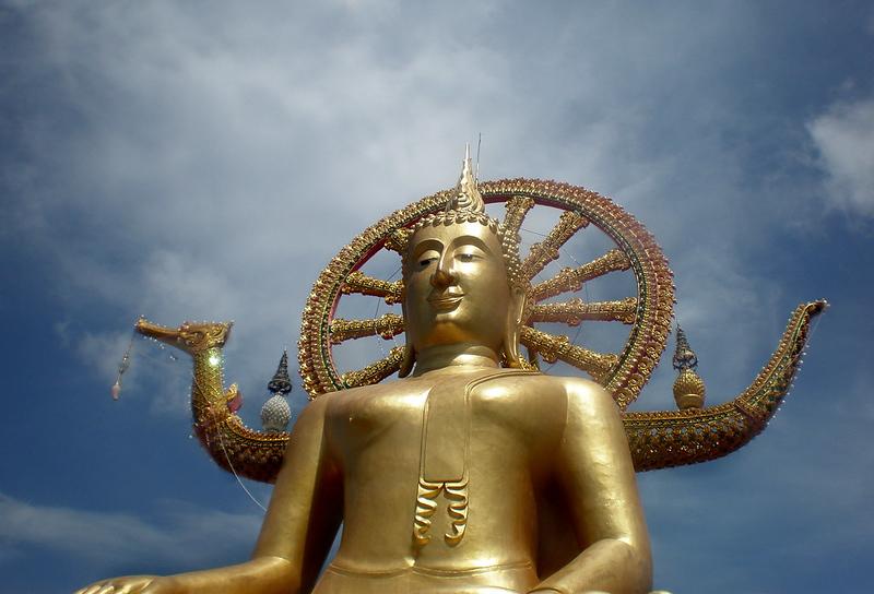 Statue on Ko Samui © Lindz Graham