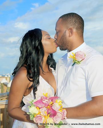 Renee & Thomas | Warwick Hotel | Paradise Island, Bahamas