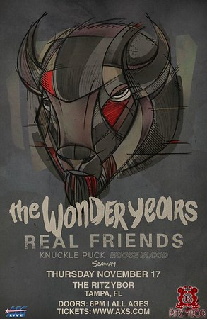 The Wonder Years + Real Friends