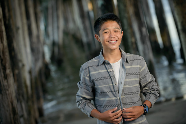 Brandon (Senior Portrait Photography) @ Capitola, California