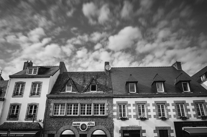 Captivating Brittany atmosphere in Pont-Aven.