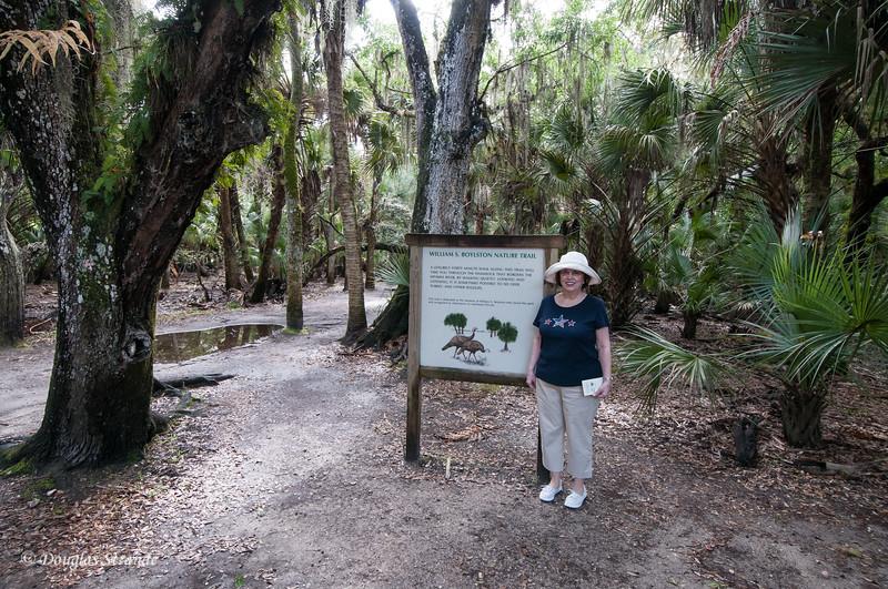 Louise at Myakka River Park