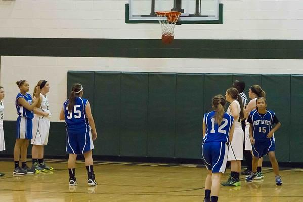 DMS 8th Girls Basketball 12-16-2014