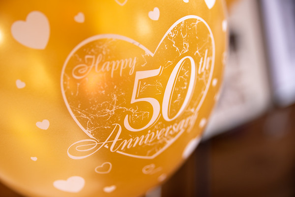 Double 50th Wedding Anniversary