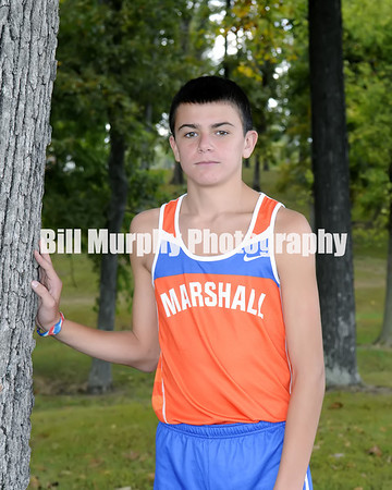 2013 Marshall County Boys Cross Country Team, October 17, 2013
