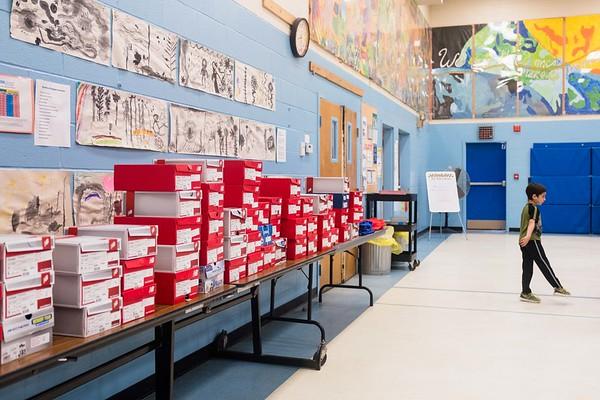 Stratton Foundation sneaker distribution 051619