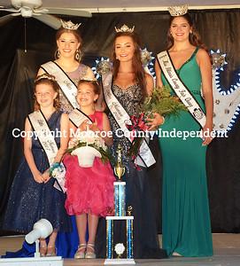 Monroe County Fair  - 2018 Fair Queen / Little Miss