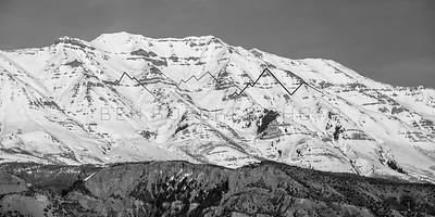 Mount Timanogos, Wasatch Range, UT